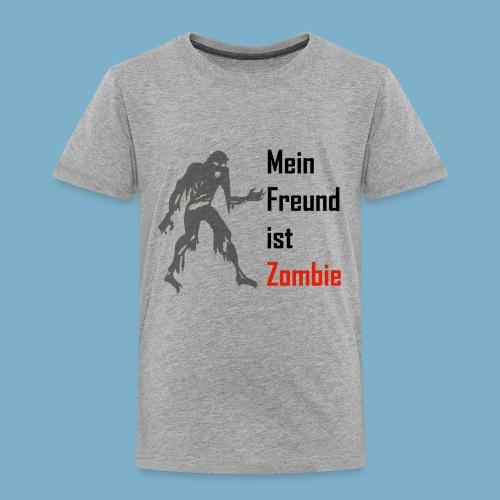 Mein Freund ist Zombie - Kinder Premium T-Shirt