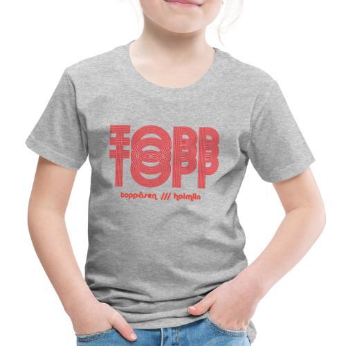 TOPP TOPP TOPP /// holmlia - Premium T-skjorte for barn