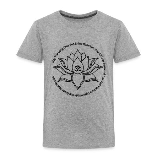 Lotusbluete mit Mantra - Kinder Premium T-Shirt