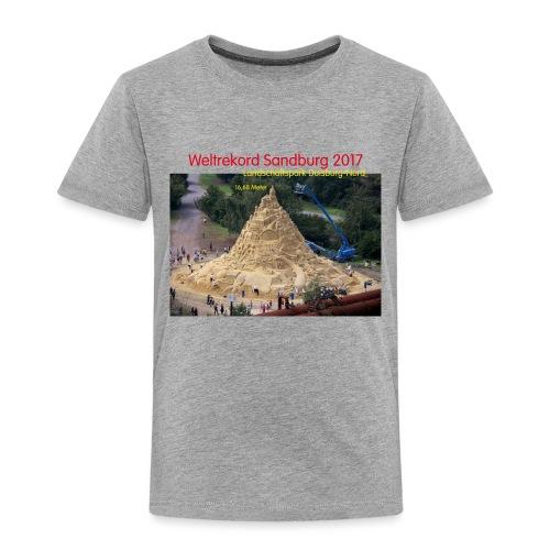 Weltrekord Sandburg 2017 - Kinder Premium T-Shirt