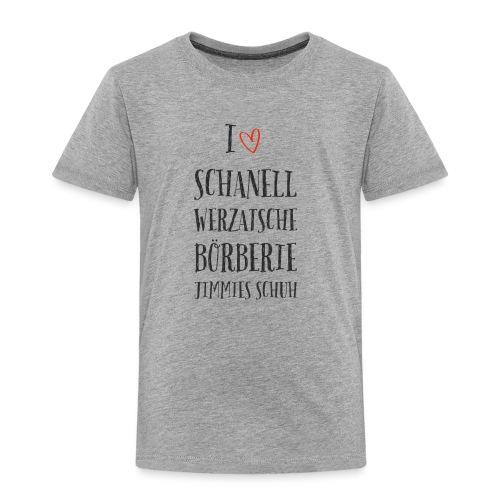 I love Schanell: das Modeshirt für Markenaffine - Kinder Premium T-Shirt