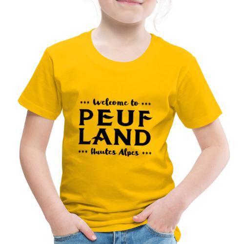 Peuf Land 05 - Hautes-Alpes - Black - T-shirt Premium Enfant