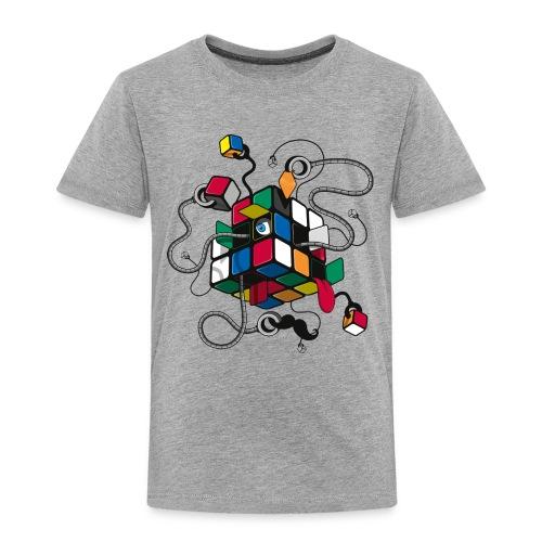 Rubik's Cube Robot Style - Kids' Premium T-Shirt
