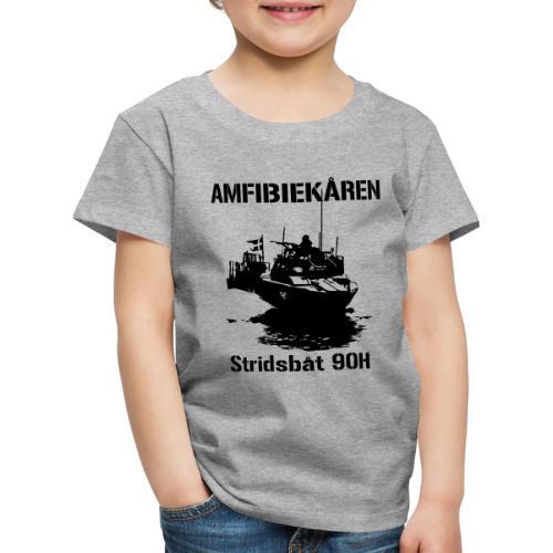 Amfibiekåren - Stridsbåt 90H - Premium-T-shirt barn