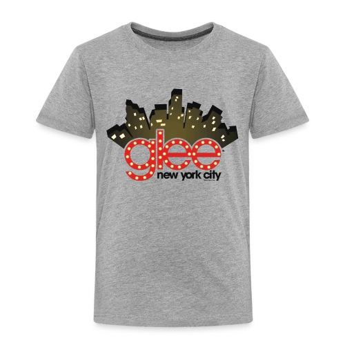 Glee Logo New York Skyline - Kinder Premium T-Shirt