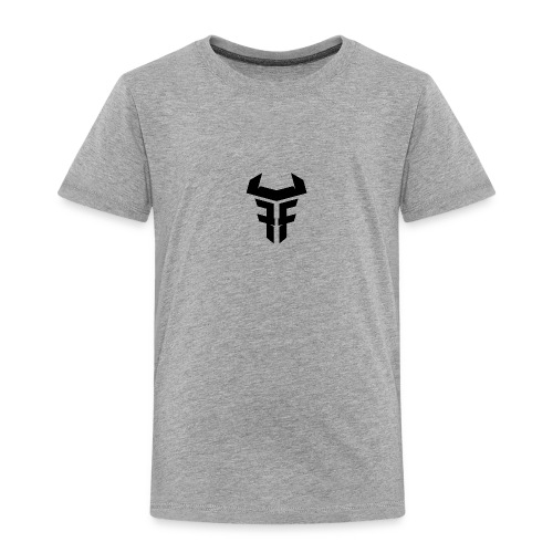 Fit Fight Bull Logo black small - Kinder Premium T-Shirt
