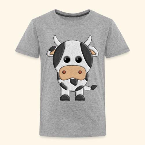vaquita de peluche vaca cow - Camiseta premium niño
