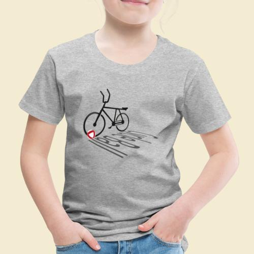 Radball | Cycleball Shadow - Kinder Premium T-Shirt