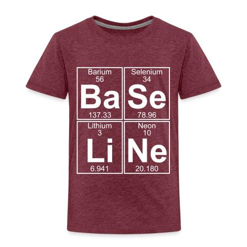 Ba-Se-Li-Ne (baseline) - Full - Kids' Premium T-Shirt