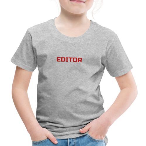 EDITOR A3 - Premium-T-shirt barn