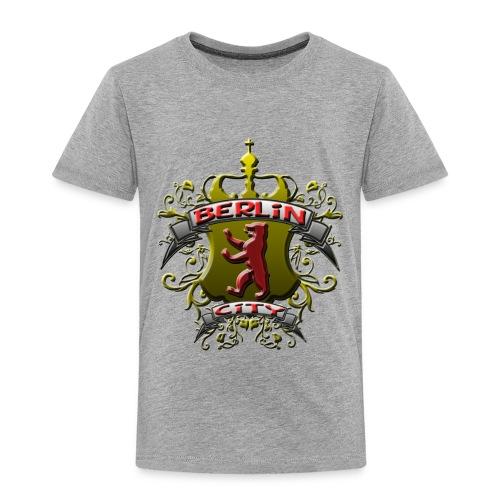 BERLIN CITY Wappen Berliner Bär mit Berlin City - Kinder Premium T-Shirt