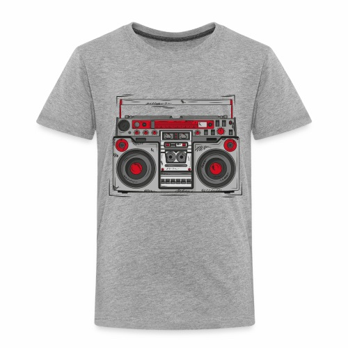 Ghettoblaster - Kinder Premium T-Shirt