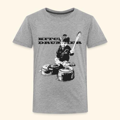 Kitchen Drummer nero - Maglietta Premium per bambini