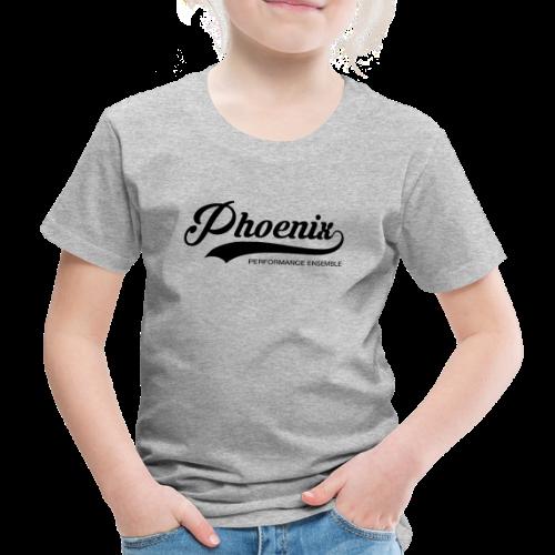 Phoenix Retro Black - Kinder Premium T-Shirt