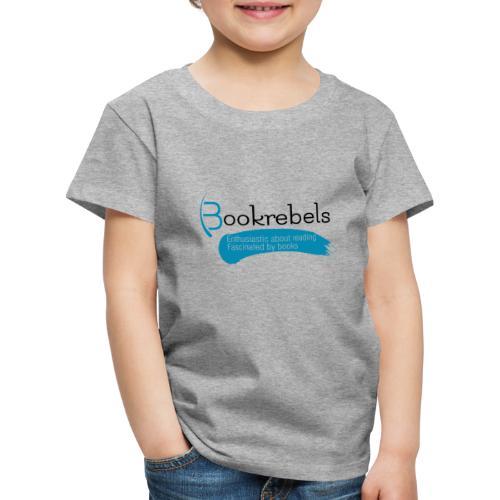 Bookrebels Enthusiastic - Black - Kids' Premium T-Shirt