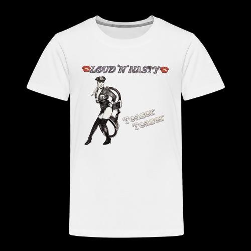 Teaser-Teaser - Premium-T-shirt barn