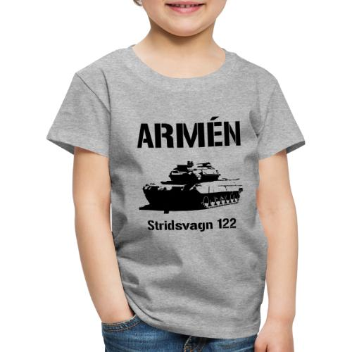 ARMÉN - Stridsvagn 122 - Premium-T-shirt barn