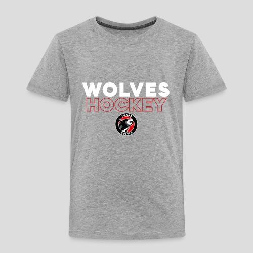 Wolves Hockey - Kinder Premium T-Shirt