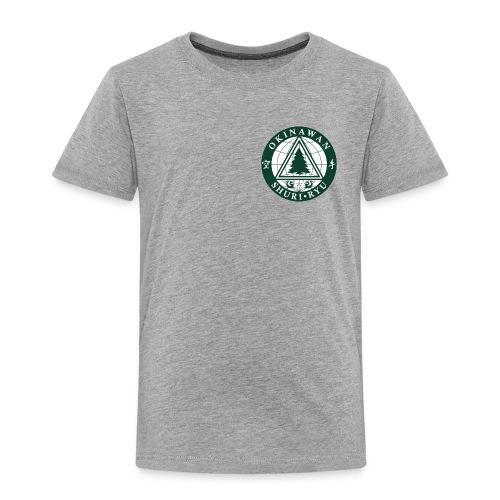 Klubmærke Traditionel placering - Børne premium T-shirt