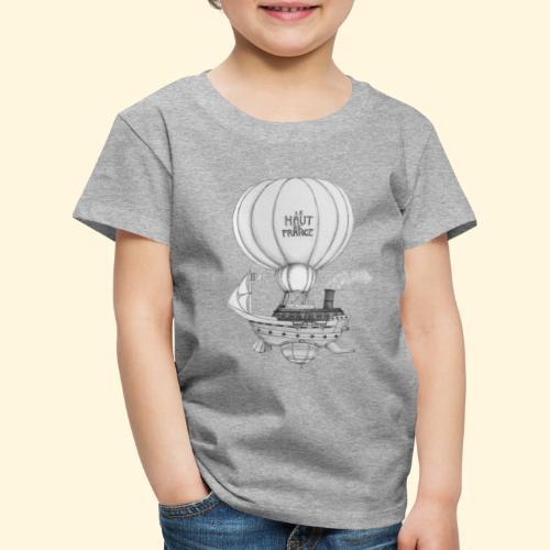 Bateau volant steampunk - Le Haut de France - T-shirt Premium Enfant