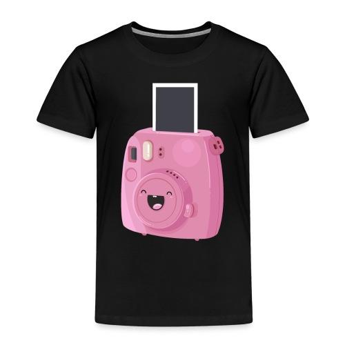 Appareil photo instantané rose - T-shirt Premium Enfant