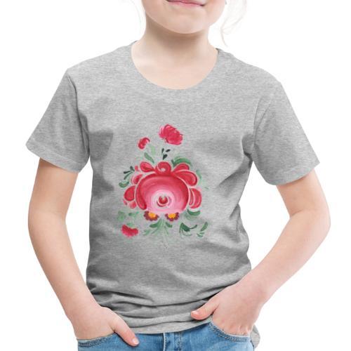 Ostfriesische Rose - Kinder Premium T-Shirt