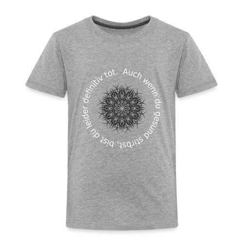 Zentralmatura memes - Kinder Premium T-Shirt