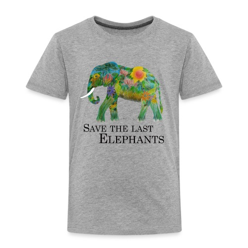 Save The Last Elephants - Kinder Premium T-Shirt