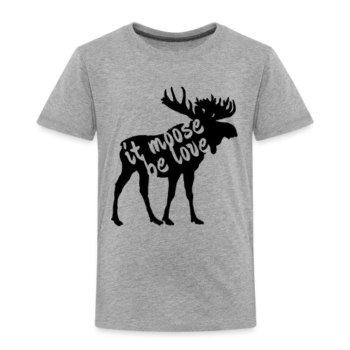 Skandinavien Liebe Elch Geschenk - Kinder Premium T-Shirt