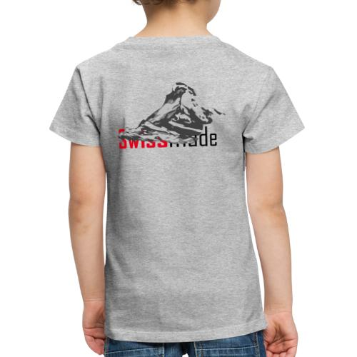 Swiss made logo - Kinder Premium T-Shirt