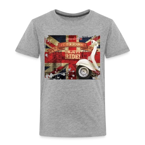 UnionJackVespa - Kinder Premium T-Shirt