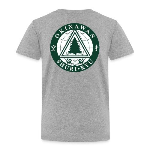 Klubmærke Ryg placering - Børne premium T-shirt