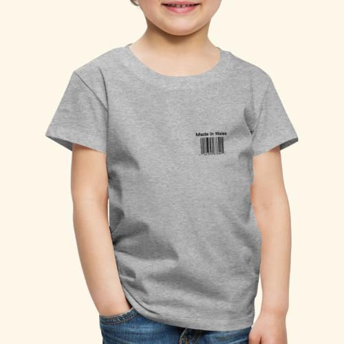 Made in Wales - Kids' Premium T-Shirt