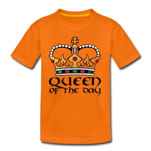 Queen of the day - Kinder Premium T-Shirt