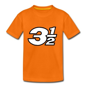Three and a Half Logo - Kids' Premium T-Shirt
