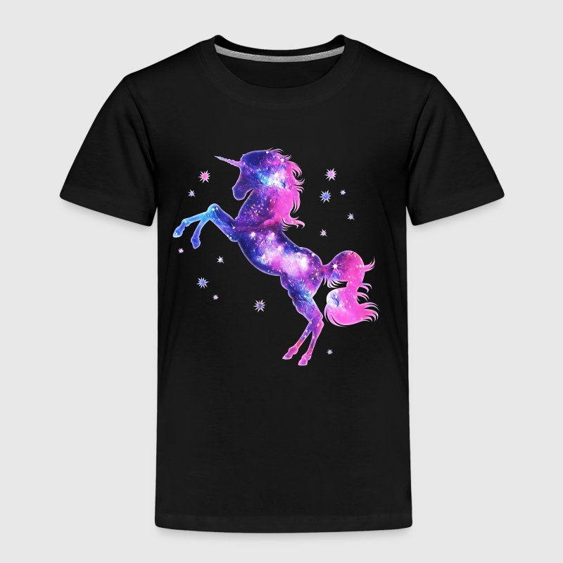 Magische eeenhoorn, ster, sterren, unicorn, paard - Kinderen Premium T-shirt