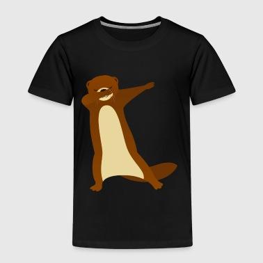 Otter Dab Dance - Cool Gift - Premium-T-shirt barn