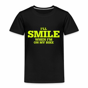 i will smile - Kinder Premium T-Shirt