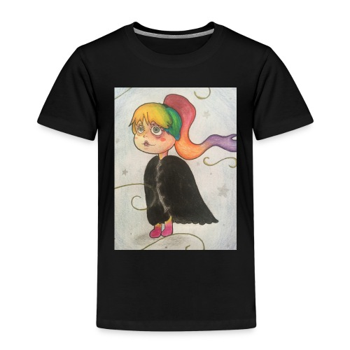 Amber in the wind - Kids' Premium T-Shirt