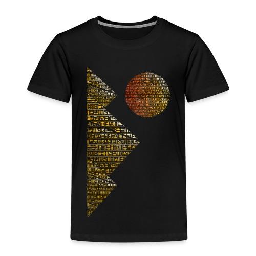 Pyramides hieroglyphic - T-shirt Premium Enfant