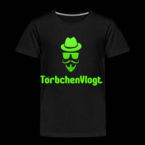 TörbchenVlogt Logo - Kinder Premium T-Shirt