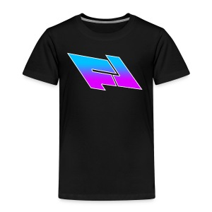 blue & purple gradient (FOX LEADER LOGO) - Kids' Premium T-Shirt