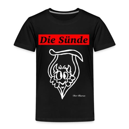 Loge DIE SÜNDE designed by antonia - Kinder Premium T-Shirt