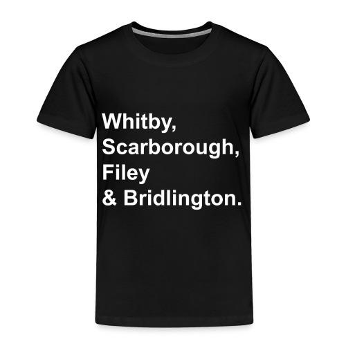 TYS Yorkshire Seaside Towns - Kids' Premium T-Shirt