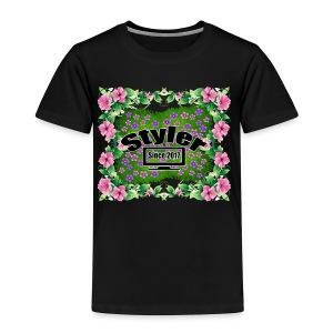 Styler Bloemen Design - Kinderen Premium T-shirt