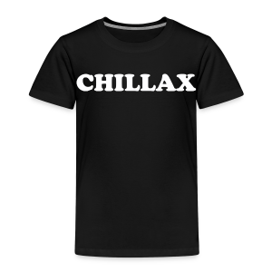 chill Collection - Premium T-skjorte for barn