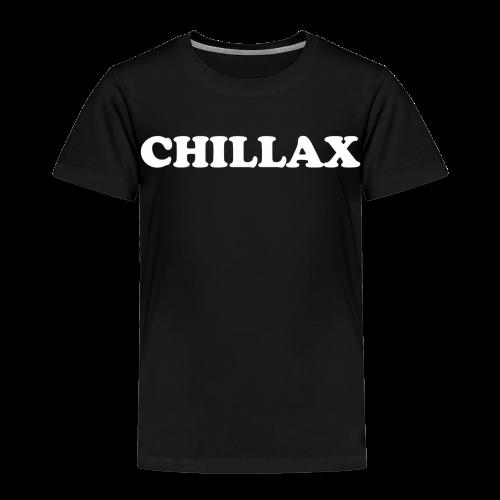 chill Collection - Premium T-skjorte for barn