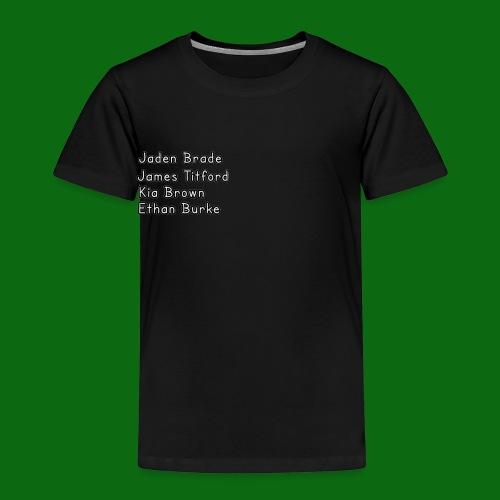 Glog names - Kids' Premium T-Shirt