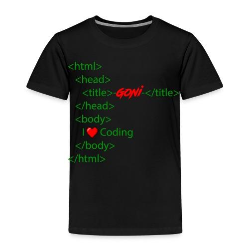 Html Grundgerüst - Kinder Premium T-Shirt