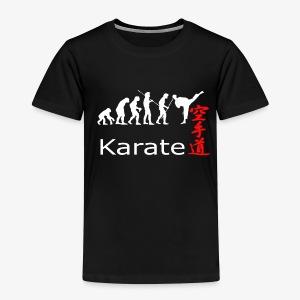 Karate weiß - Kinder Premium T-Shirt